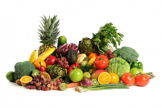 Eating fresh fruits and vegetables bolsters your immune system