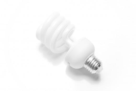 A 23 watt CFL bulb can replace a 60 watt traditional bulb