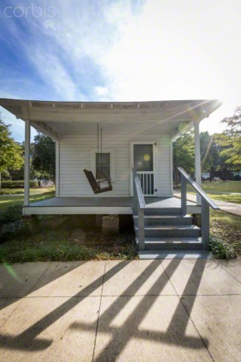 Elvis Presley's birthplace in Tupelo, Miss.