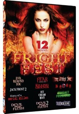 """""""Fright Fest"""" DVD pack cover"""