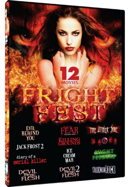 """Fright Fest"" DVD pack cover"