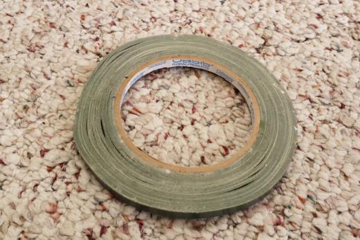 green waterproof tape
