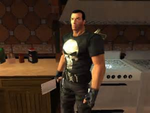 The Punisher game was loosely based on the movie of the same name.