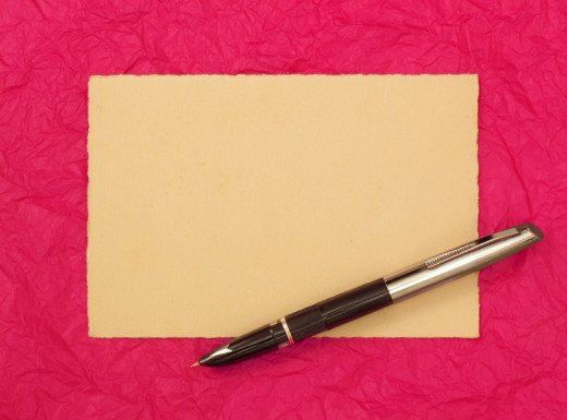 A blank card can be hard to stare down.