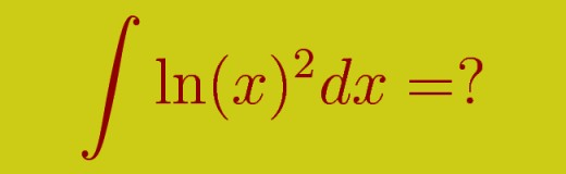 Find the antiderivative of the function ln(x)^2 using the integration by parts method.