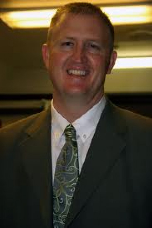 Rick Robbins, principal, Utah High School.