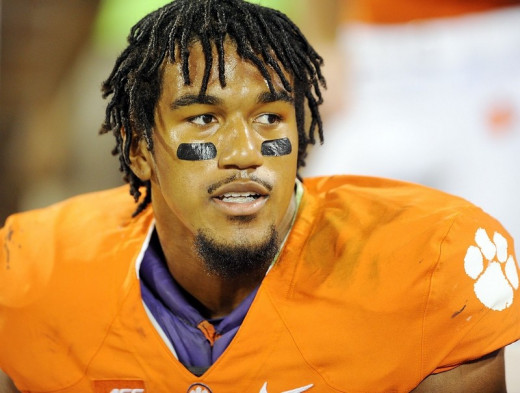 Vic Beasley would be the best player available if he is still on the board with the 22nd pick in this year's draft.