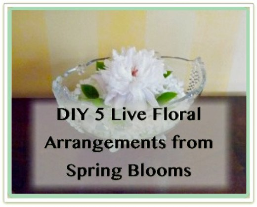 Spring blooms inspire creative floral arrangements to brighten every corner of home!