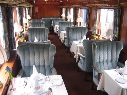 The elegant interiors