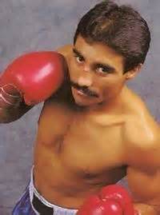 Louie Espinoza is the former king of the junior featherweights and the featherweights.