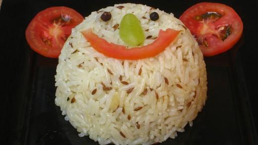 So easy, so yummy - Jeera Rice