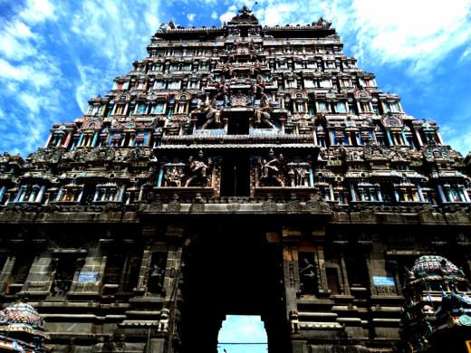 East Gopuram; Nataraja temple