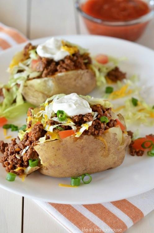 Taco potato