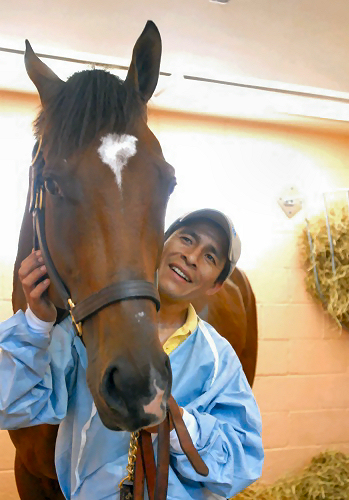 Edgar Prado (jockey) and Barbaro