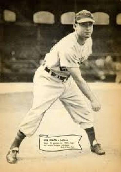 Al Rosen,, 1951 Cleveland Indians.