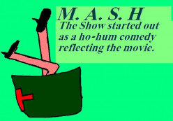 In its run there were a number of Christmas orientated episodes of MASH.