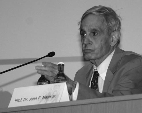 Mathematician John F Nash