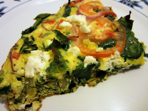 One pan Frittata is easy to make and very versatile. It is a grest way to use leftovers in healthy and delicious lunches and snacks