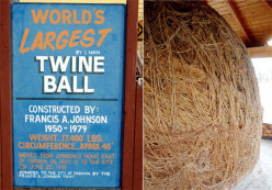 The Biggest Ball of Twine in MINNESOTA,What Crazy things have you seen in your travels?