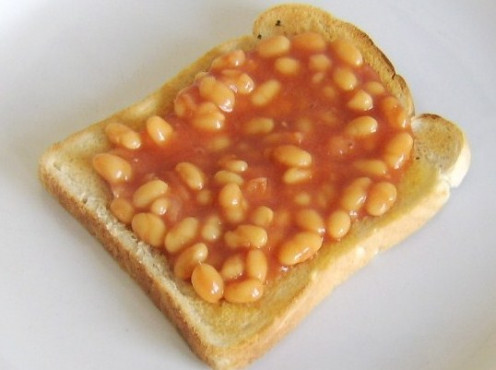 Beans on toast as basic as it gets