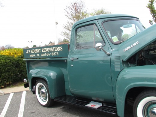 JP. Mooney Renovations of Media, Pa featured this 1953 Ford F-100