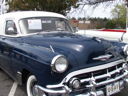 This 1953 Chevrolet Sedan, owner is Maurice Ayers of West Chester, Pa