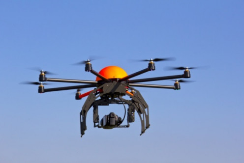 This Canadian drone even looks a bit like a worker bee.