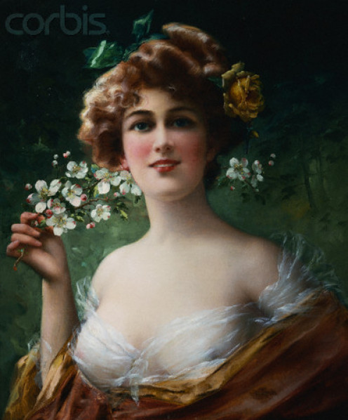 Blossoming Woman by Emile Vernon