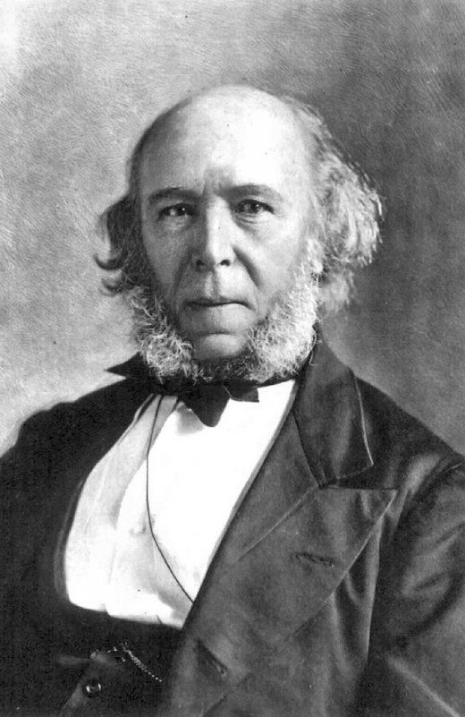Herbert Spencer, founder of Social Darwinism