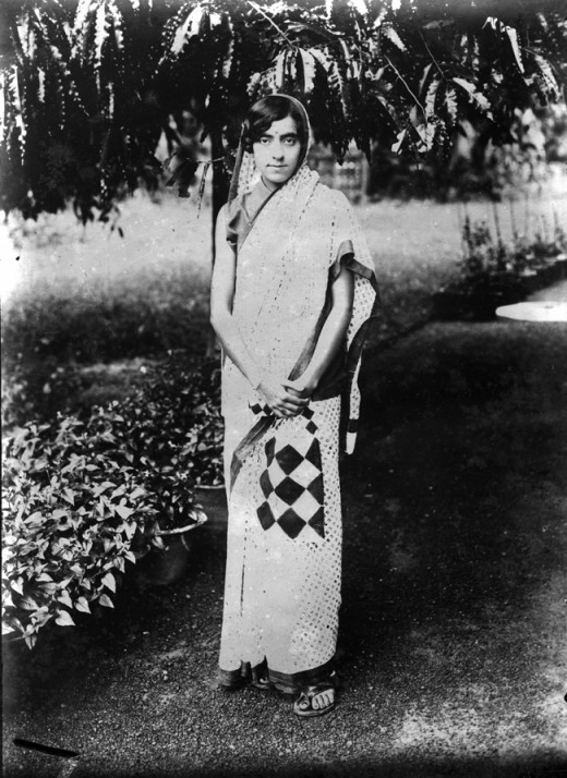Kamala Nehru in the 1930s [Template Unknown(author) (http://creativecommons.org/licenses/by-sa/3.0/)], via Wikimedia Commons