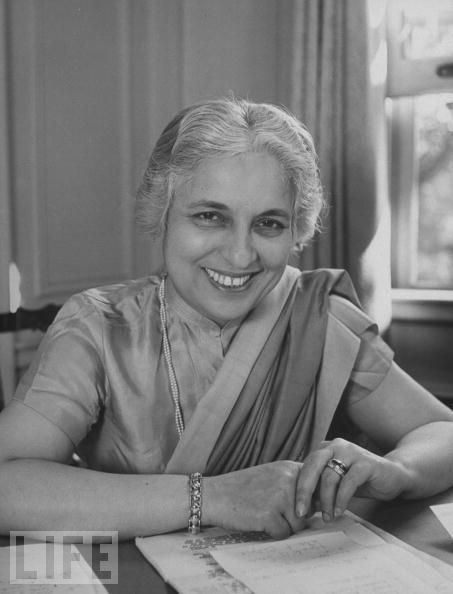 Ms. Vijaya Lakshmi Pandit (India)