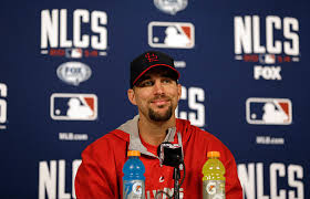 Adam Wainwright speaking about Achilles Tear
