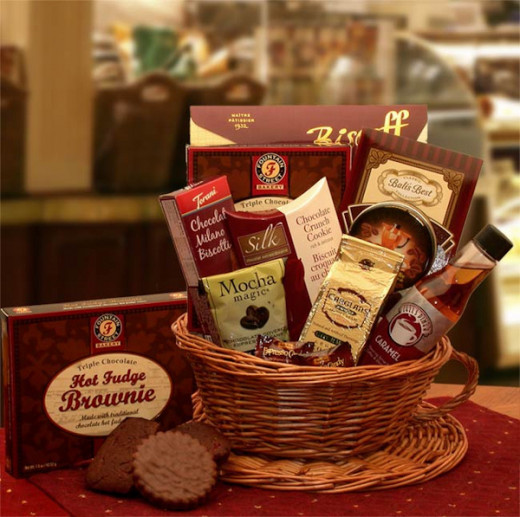 Buy this Cup of Joe Coffee Gift Basket from AAGiftsandBaskets.com!