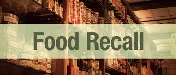 A food recall occurs when there is believe that consumption of a product may cause illness