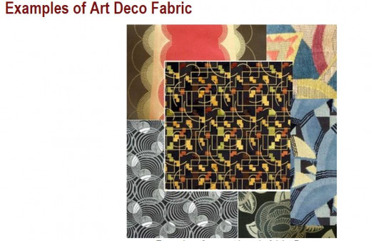 Palette of patterns for Art Video fabric