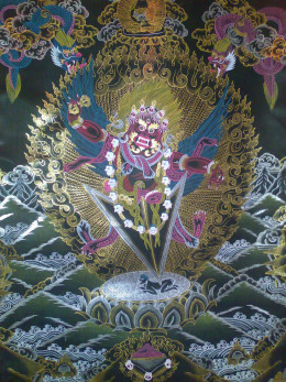 Tibetan Buddhist meditation deity.
