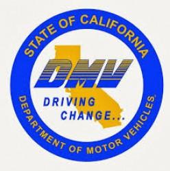 DMV logo.