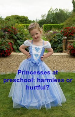 Why Disney Princess Gowns Don't Belong at Preschool