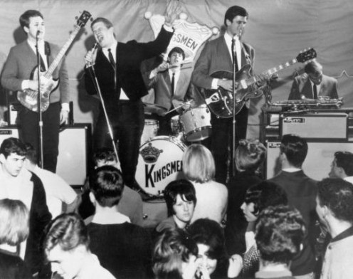 Jack Ely and The Kingsmen.