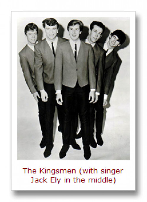 Early Kingsmen--mid 1960's.
