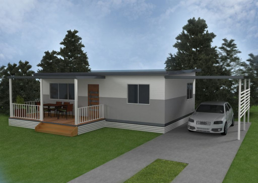 Granny flat can be used for rent