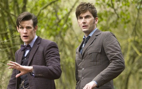 David Tennant Matt Smith