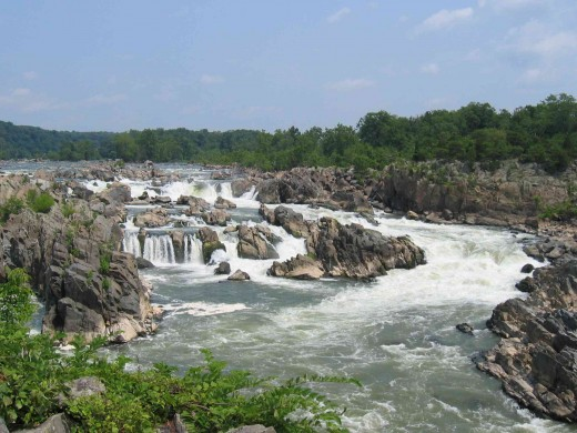 Great falls park, Washington DC