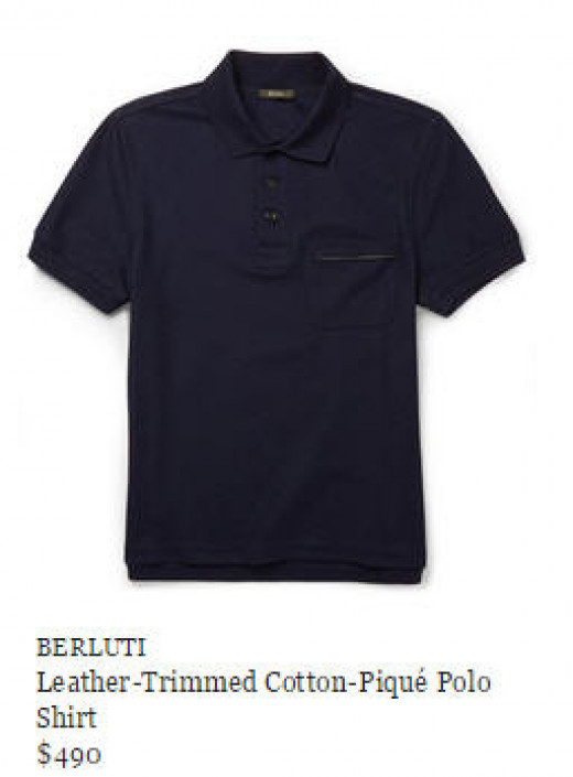 The Berluti Polo for $490