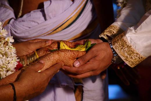 Kanyadaan Ceremony  in Indian Wedding