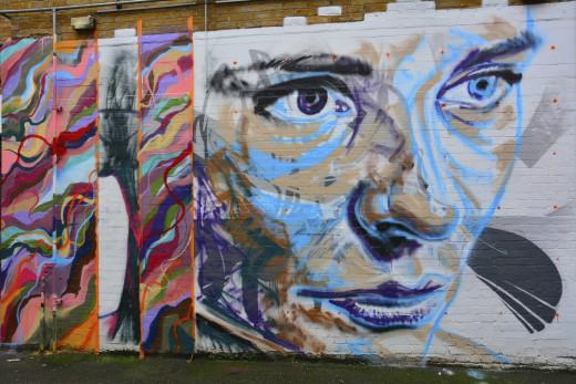 London,Street Graffiti