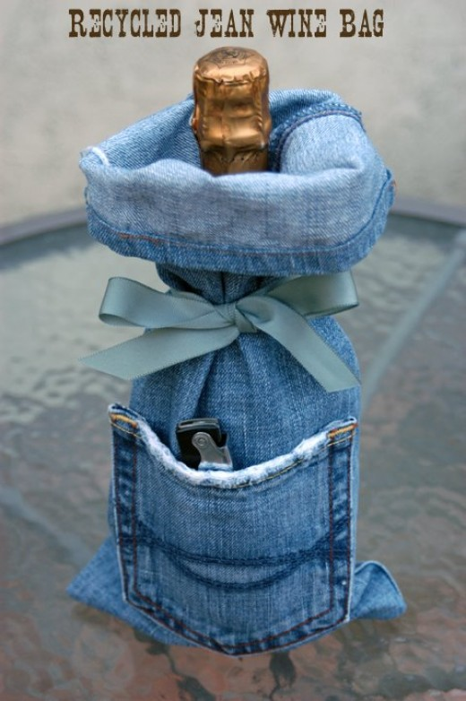 53 incredible old jeans craft ideas hubpages for Denim craft ideas