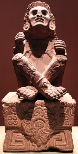 Xochipilli, Aztec god of art, games, beauty, dance, flowers, and song