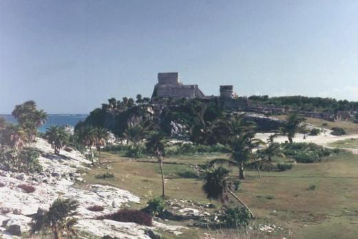 Tulum, Castillo, 1995