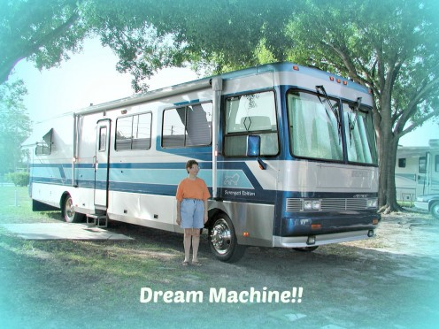One of the most well designed motor homes ever manufactured.